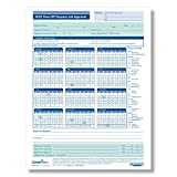 ComplyRight 2018 Time Off Request & Approval Calendar, 50 Pack