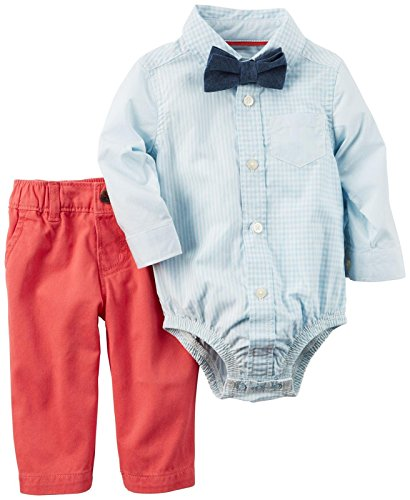 Carter's Baby Boys' 3 Pc Sets 120g118, Blue, 24M]()