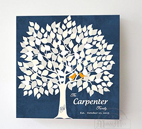 MuralMax Custom Alternative Wedding Signature Book, 150 Leaf