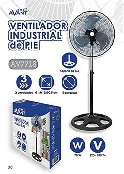 Avant AV7718 Ventilador: Amazon.es: Hogar