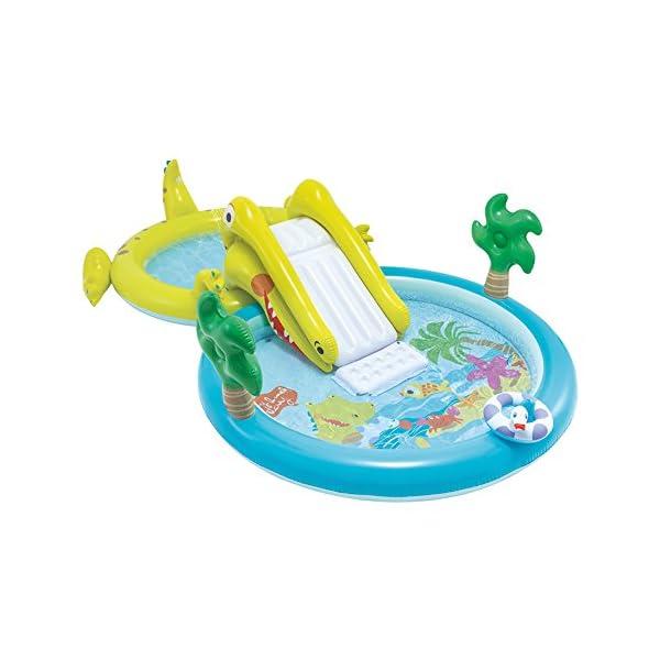 Intex–Centro di gioco acquatico con scivolo–2Piscina, 180/132L, 57164) 1 spesavip
