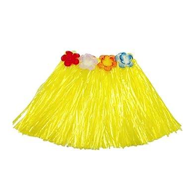 Elástico Bailarín Hawaiano de la Falda de Hierba Kidscostume Suit ...