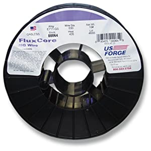 US Forge Welding Flux-Cored MIG Wire .030 10-Pound Spool #00064