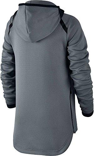 fa53c676 Nike Boys' Therma Flex Showtime Full Zip Basketball Hoodie (Cool Grey/White,
