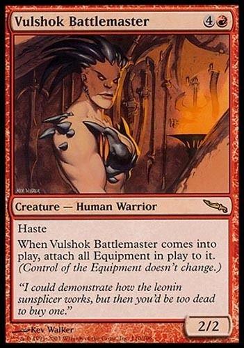 1x Vulshok Battlemaster Mirrodin MtG Magic Red Rare 1 x1 Card Cards ^G#fbhre-h4 8rdsf-tg1372939