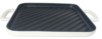 "10"" Cast Iron Square Grill Pan - Threshold™ : Target"