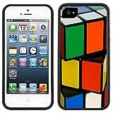 Rubik's Cube Handmade iPhone 5C Black Case