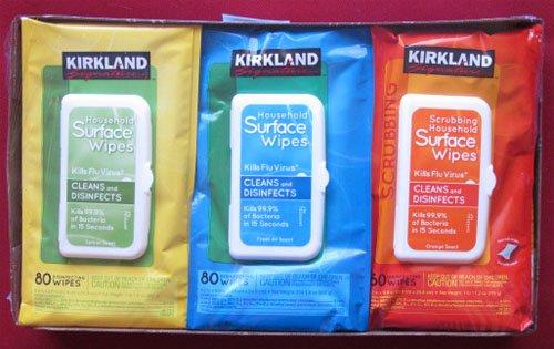 kirkland household wipes - 4