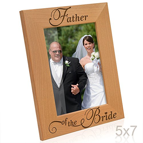Kate Posh - Father of the Bride Picture Frame (5x7 Vertical)
