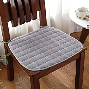 Amazon.com: Acolchado cojín de silla de comedor, estudiante ...