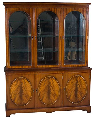 Genial Breakfront China Cabinet