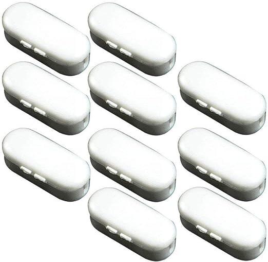 Set Kettenverbinder aus Kunststoff für Rollo-Ketten Weiß 20er