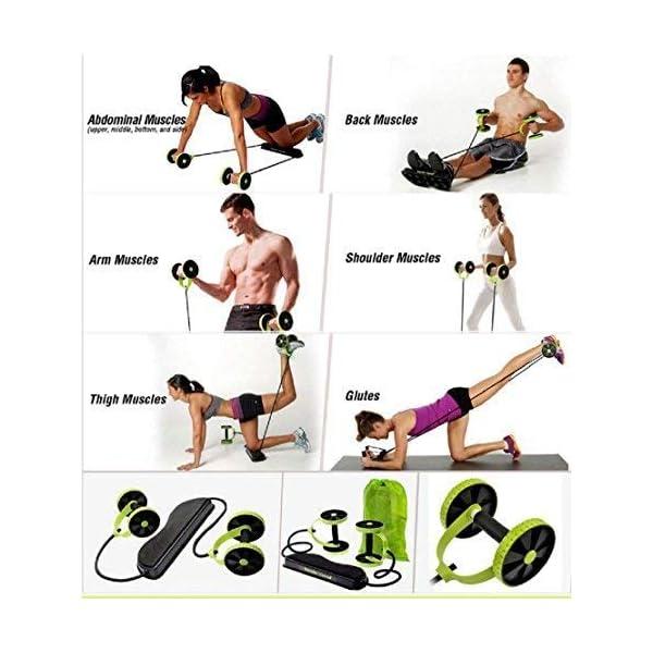 Uteruik Hommes Femme Fitness Préparateur Abdominal ABS Kit De Formation Des Bandes De Résistance Exercice Multifonction Crossfit Exercice accessoires de fitness [tag]