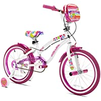 KENT Girls' Starlite 18 in Bicycle (White/Pink)