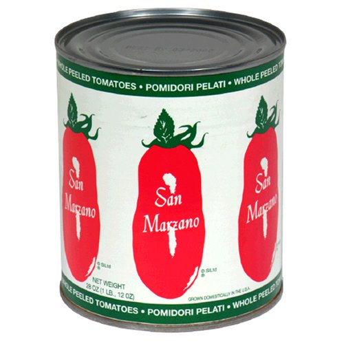 San Marzano Pizza Sauce - San Marzano, Whole Peeled Tomatoes, 28 oz