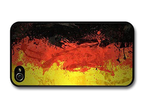 German Flag Germany Deutsch Flagge coque pour iPhone 4 4S