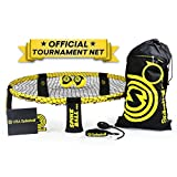 Spikeball Pro Kit (Tournament Edition) - Includes Upgraded Stronger Playing Net - New Balls Designed to Add Spin - Portable Ball Pump Gauge - Backpack - Official Serving Line - As Seen on Shark Tank TV