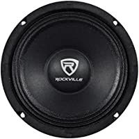 Rockville RM64PRO 6.5 4 Ohm Mid-Bass Midrange Car Speaker, 105dB 200w