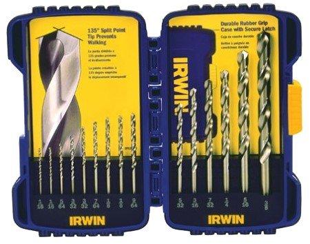 (Irwin 316015 15 Piece Cobalt Drill Bits)