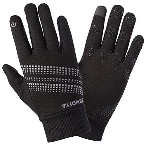 guantes de calientes deportes bicicleta que se libre Green al antideslizante en guantes aire pantalla Unisex Zhhyltt ejecutan lana invierno de táctil de Black vwHqPfW