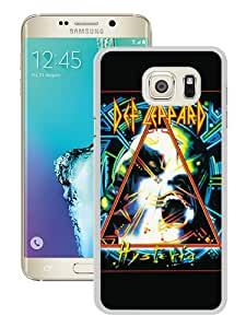 WOSN def leppard hysteria White Case Cover for Samsung Galaxy Note5 Edge