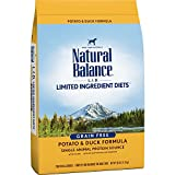 Natural Balance L.I.D. Limited Ingredient Diets Dry Dog Food, Grain Free, Potato & Duck Formula, 26-Pound For Sale