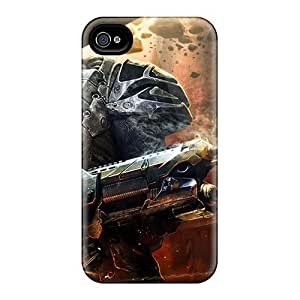Hot Alien Fear Game First Grade Tpu Phone Case For Iphone 4/4s Case Cover