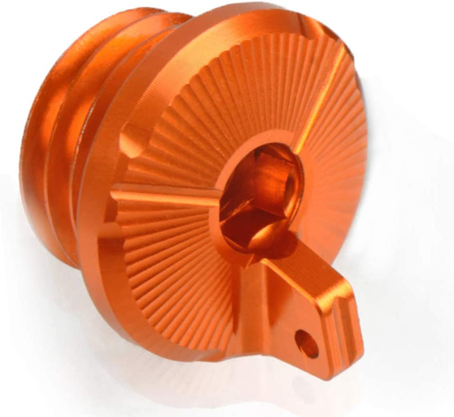 Orange 790 Adventure CNC Aluminum Engine Oil Filter Cover Cap For KTM 790 Adventure R S 2019