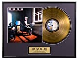 "Rush ""Power Windows"" limited edition framed gold record"