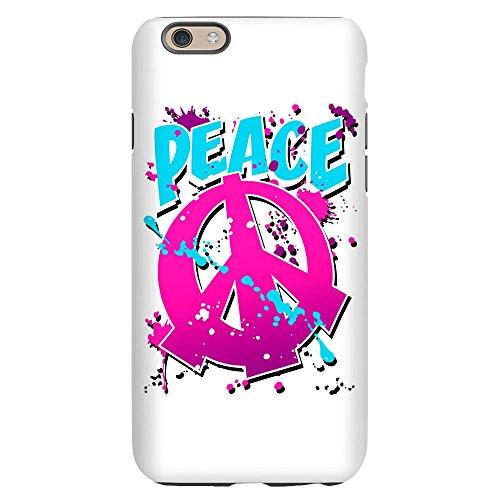 iPhone 6 Slim Case Peace Symbol Sign Splatter Neon