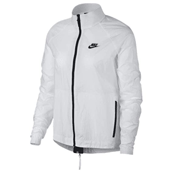 4bf6114bdcf99 Nike Women's Track Jacket White White S: Amazon.co.uk: Clothing