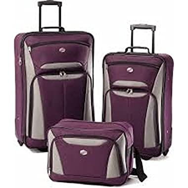 American Tourister Luggage Fieldbrook II 3 Piece Set, prpl