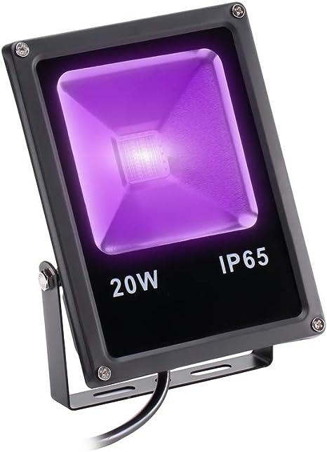 20W 20 Ligua Black Light COB UV LED Proyector automático para ...