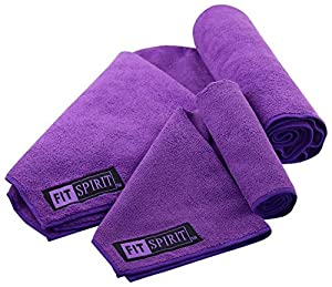 9. Fit Spirit Microfiber Yoga Towel