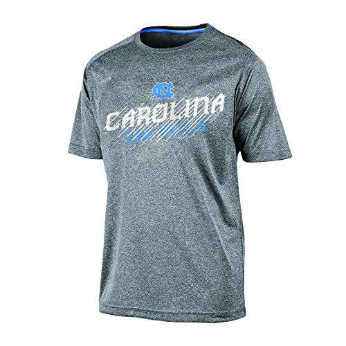 Carolina Heels Shirt Tar North (Champion NCAA North Carolina Tar Heels Men's Persistant 2 Short Sleeve Synthetic T-Shirt, Gray Heather, XX-Large)