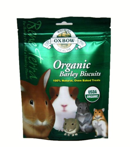 Oxbow Bene Terra Organic Barley Biscuits – 2.65 oz, My Pet Supplies