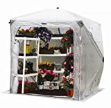 Cheap Flower House FHOH400 OrcidHouse Hub Style Greenhouse