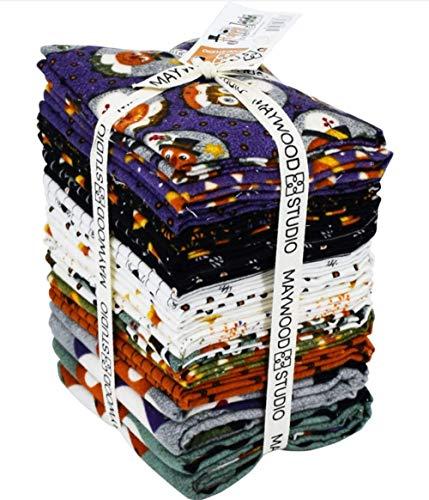 (Happy Jacks & Friends Flannel 14 pc Plus 2 Panels Fat Quarter Bundle by Bonnie Sullivan for Maywood Studio)