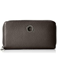 Mellow Leather Portafoglio, Womens Wallet, Schwarz (Nero), 2x10x19 cm (B x H T) Mandarina Duck
