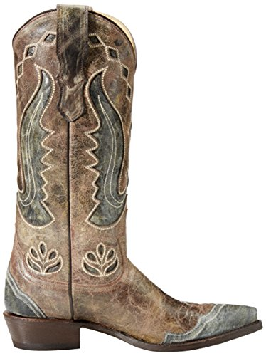 Riding Women's Stetson Hannah Boot Brown 8x8fEzw