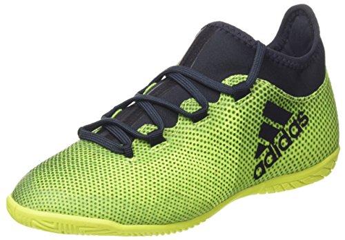 adidas X Tango 17.3 In J, Zapatillas de Fútbol Sala Unisex Niños Amarillo (Amarillo/(Amasol/Tinley/Amasol) 000)
