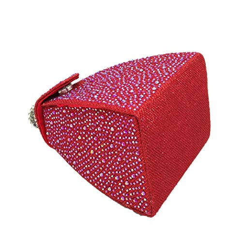 Clutches European BESTWALED and Color Parties Evening Banquets Bags Champagne Silk Handbags Ladies Dress Bridesmaids Fashion Red Bags Dating American Brides vwCwBq