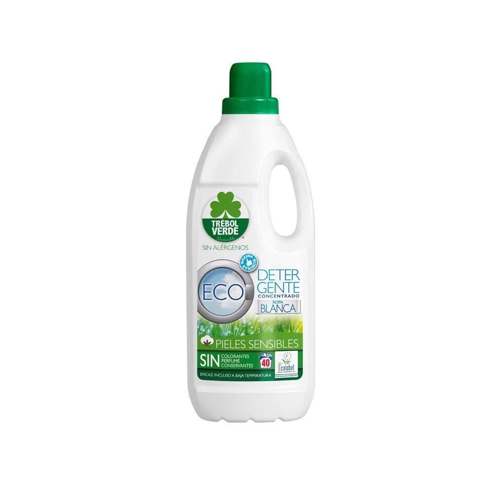 Detergente lavadora ropa blanca ECO Trébol Verde 2 L: Amazon ...
