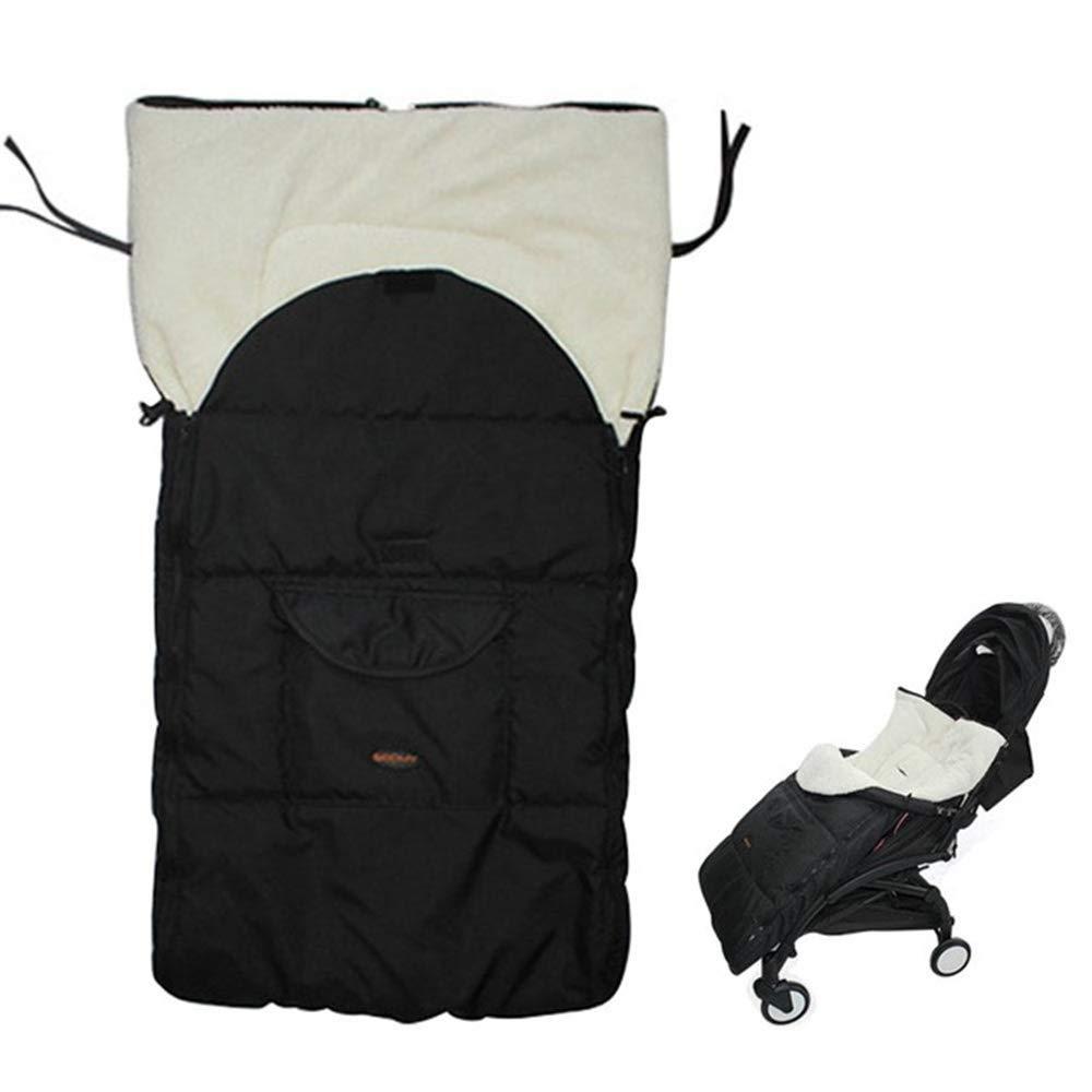 couverture /épaisse et chaude en polaire chanceli/ère pour landau sac de couchage pour poussette UIFLY Chanceli/ère universelle pour poussette