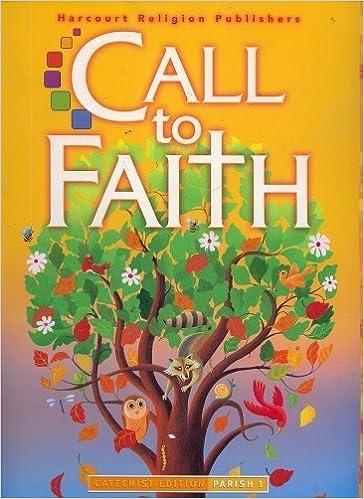 Ctf 09 Parish Ce Gr 1 (Call to Faith): Rev  Richard Schaefer