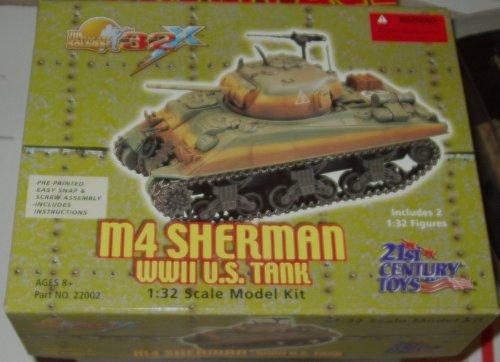 M4 Sherman WWII U.S. Tank [1:32 Scale Model -