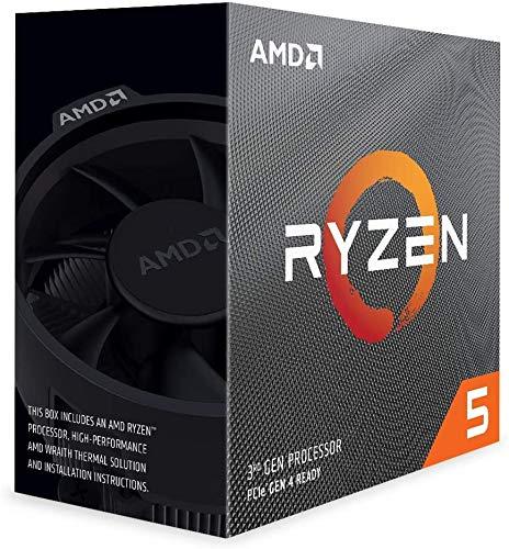 AMD Ryzen 5 3500X (6X 3,6 GHz) 34MB Sockel AM4 CPU Box (Wraith Stealth Kühler)