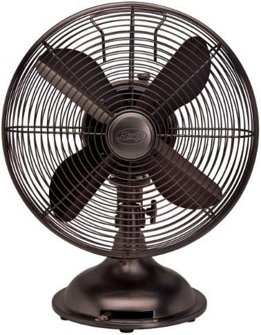 Hunter Fan 90406 12 Oscillating Desk Fan – oil rubbed bronze Color