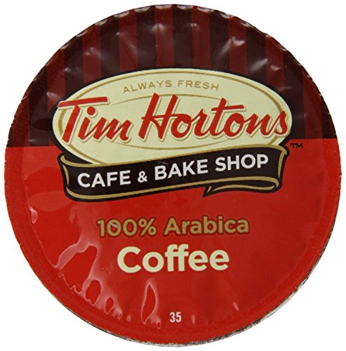 Tim Hortons Single Serve Coffee Cups, Regular (24 Count) (8.89oz)