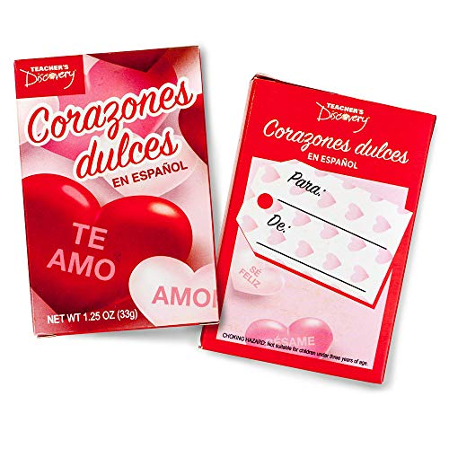 Top 10 recommendation conversation hearts spanish 2019
